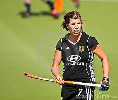 Germany V Spain.Hockey European Cup Germany 2011 Editorial Stock Photo