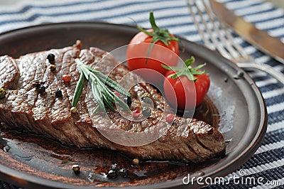 Geroosterd lapje vlees