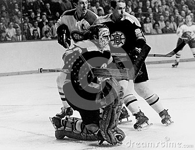 Gerry Cheevers Boston Bruins Editorial Photography