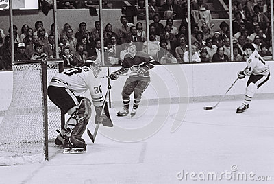 Gerry Cheevers Boston Bruins Editorial Stock Photo