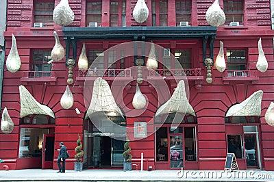 Gershwin Hotel Exterior Facade, New York City Editorial Stock Photo