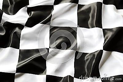 Geruite vlag