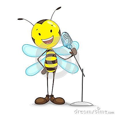 Gesang-Biene