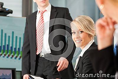 Geschäft - Team im Büro