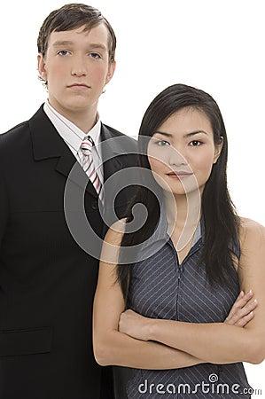 Geschäfts-Paare 2