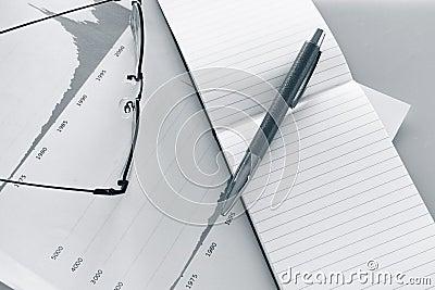 Geschäfts-Schreibtisch