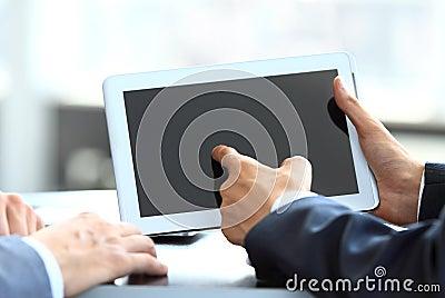 Geschäftsmannholding