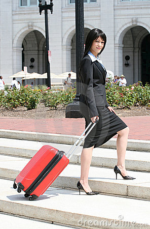 Geschäftsreise: Frauen-Reisen