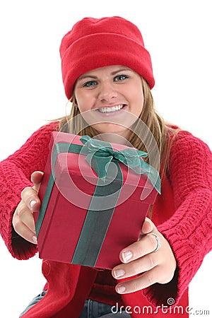 Geschenk-Geben