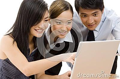 Geschäfts-Team 6