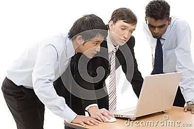 Geschäfts-Team 9