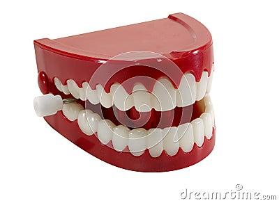 Geschnatter-Zähne