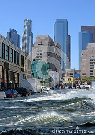 Geschützt durch Überschwemmungsversicherung