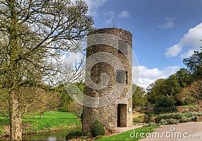 Geschwätz-Schlosskontrollturm