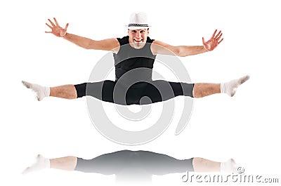 Geïsoleerde danser