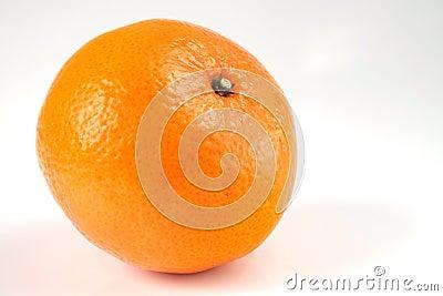 Geïsoleerded sinaasappel