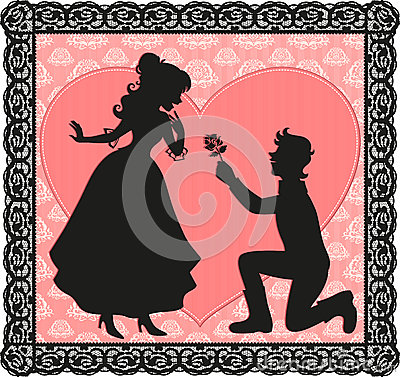 Geste romantique