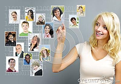Gestion de réseau sociale