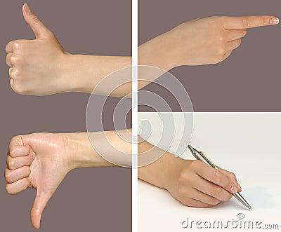 Gesture set 1