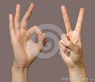 Gesture set 2