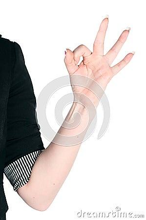Gestures by hands