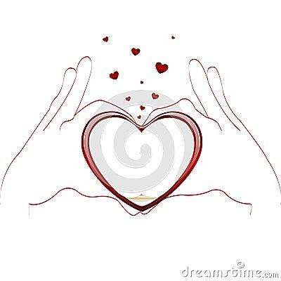 Gestures of love type