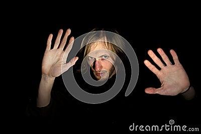Gesturing человека