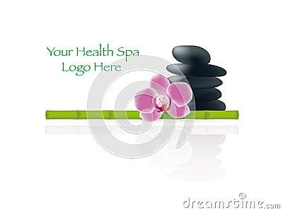 Gesundheits-Badekurort-Dekoration