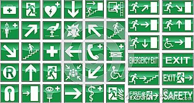 Gesundheits-und Sicherheits-Zeichen