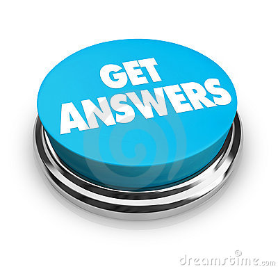 Free Get Answers Button Stock Images - 8885574