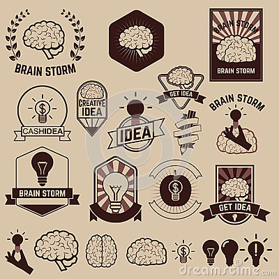 Get idea. brainstorm Vector Illustration