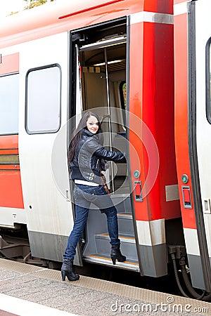 get train