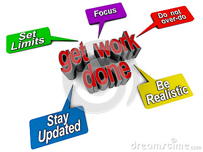 Get Work Done Stock Image Image 26339771