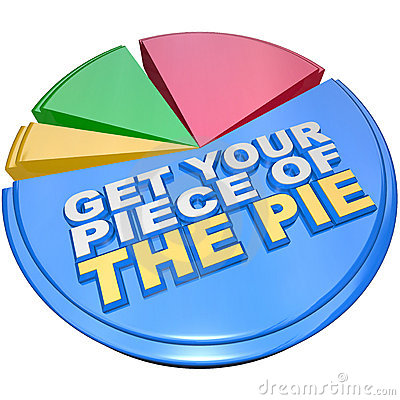 Get Your Piece of The Pie Chart Measuring Wealth