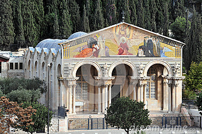 Gethsemane Church in Jerusalem
