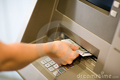 Getting Money at an ATM