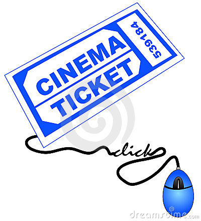 Getting movie ticket online