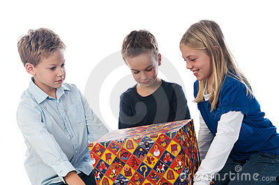 Getting A Present