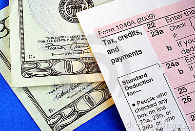 Getting refund from the income tax return