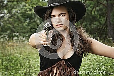 Gewehr-Schüsse - Fräulein Sherif