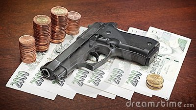 Gewehr und Geld