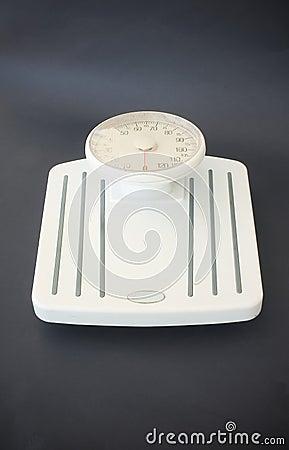 Gewichtskala - der Moment der Wahrheit