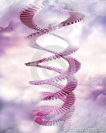 Gewundene Treppen