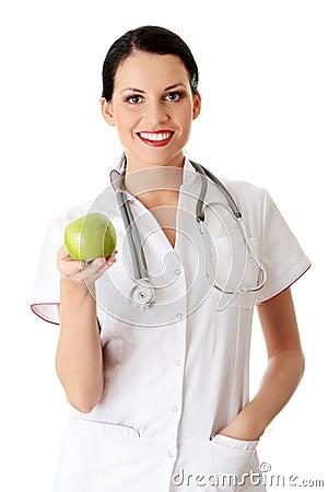 Gezond het eten of levensstijlconcept