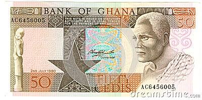 Ghanaian banknote