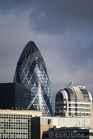 The Gherkin building London