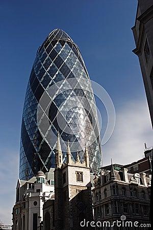 The Gherkin tower