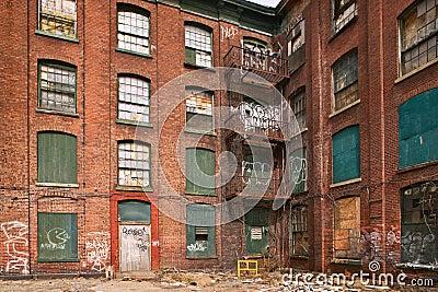 Ghetto building