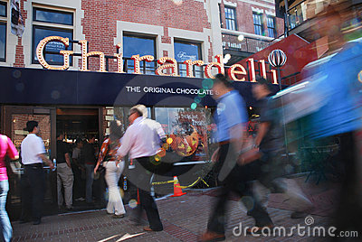 Ghirardelli Chocolate Store Editorial Image