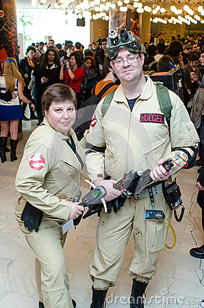 Ghost Busters impersonators Editorial Photography